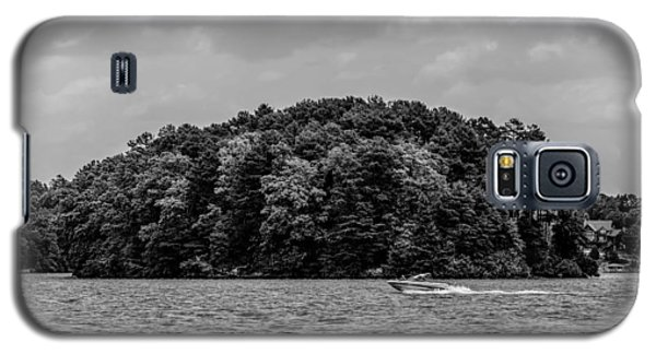 Relaxing On Lake Keowee In South Carolina Galaxy S5 Case