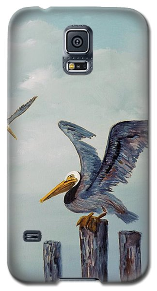 Resting Posts Galaxy S5 Case