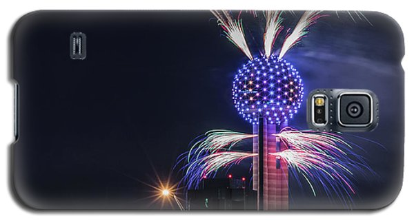 Reunion Tower Fireworks Galaxy S5 Case