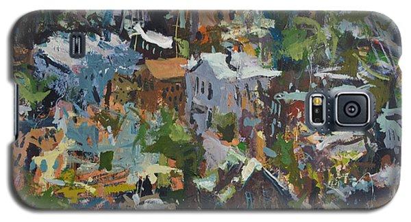 Richmond Virginia Cityscape Painting Galaxy S5 Case
