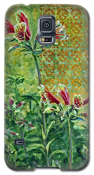 Galaxy S5 Case featuring the painting Roadside Discovery by Suzanne McKee
