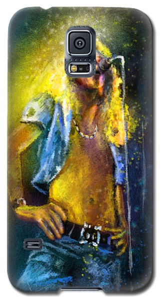 Robert Plant 01 Galaxy S5 Case by Miki De Goodaboom