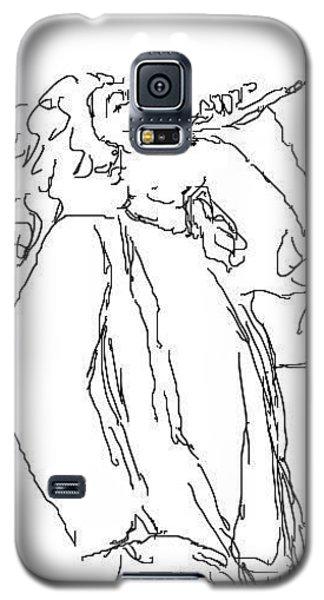 Robert Plant Galaxy S5 Case by Angela Murray