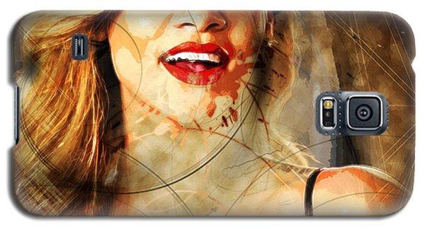 Robyn Rihanna Fenty - Rihanna Galaxy S5 Case