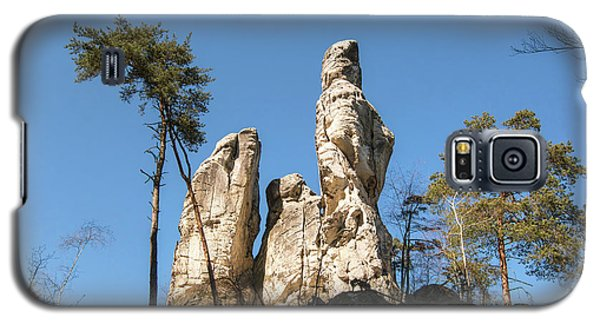 Galaxy S5 Case featuring the photograph Rock Formations In The Bohemian Paradise Geopark by Michal Boubin