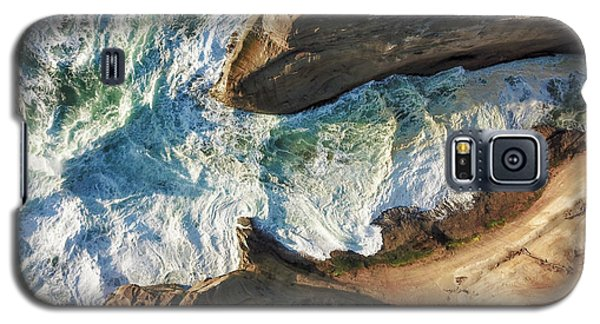 Rocks And Waves Galaxy S5 Case
