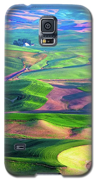 Green Hills Of The Palouse Galaxy S5 Case by James Hammond