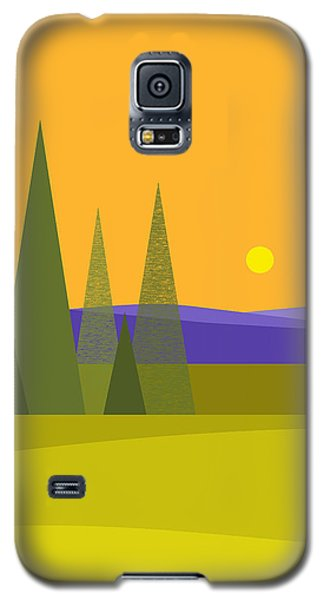 Rolling Hills Galaxy S5 Case by Val Arie