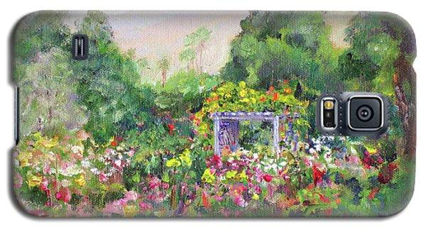 Rose Garden In Bloom Galaxy S5 Case