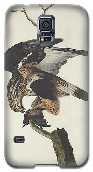 Rough Legged Falcon Galaxy S5 Case by Rob Dreyer