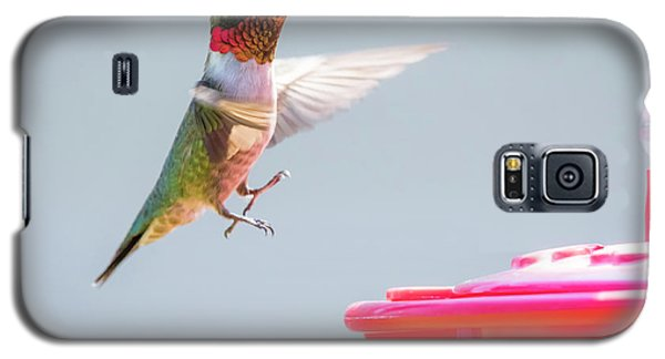 Galaxy S5 Case featuring the photograph Ruby-throated Hummingbird  by Ricky L Jones