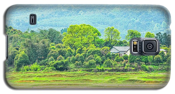 Rural Scenery In Spring Galaxy S5 Case