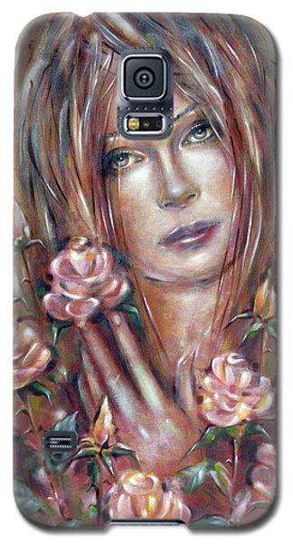 Sad Venus In A Rose Garden 060609 Galaxy S5 Case