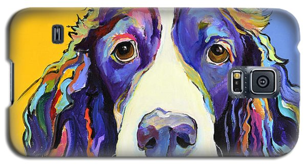 Dog Galaxy S5 Case - Sadie by Pat Saunders-White