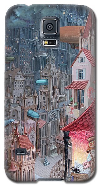 Saga Of The City Of Zeppelins Galaxy S5 Case