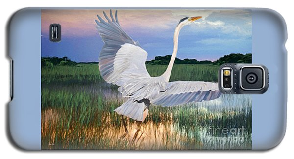 Sail Into Sunset Galaxy S5 Case