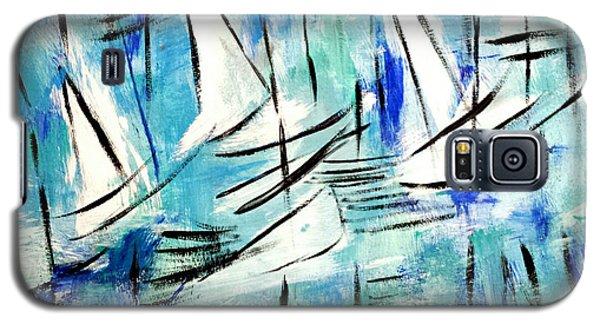 Sailing Blue Galaxy S5 Case