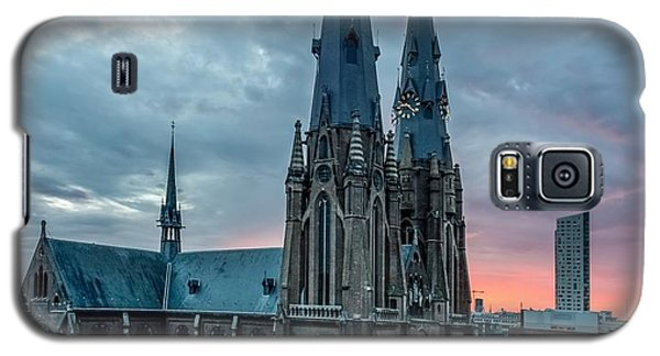 Saint Catherina Church In Eindhoven Galaxy S5 Case by Semmick Photo