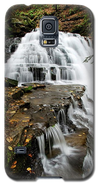 Galaxy S5 Case featuring the photograph Salt Springs Waterfall by Christina Rollo