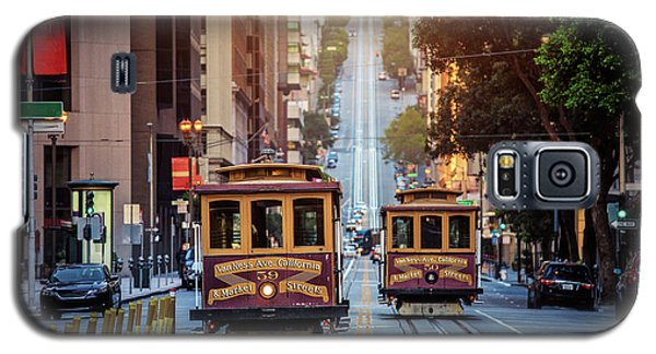 San Francisco Cable Cars Galaxy S5 Case by JR Photography