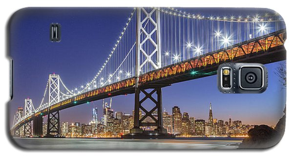 San Francisco City Lights Galaxy S5 Case by JR Photography