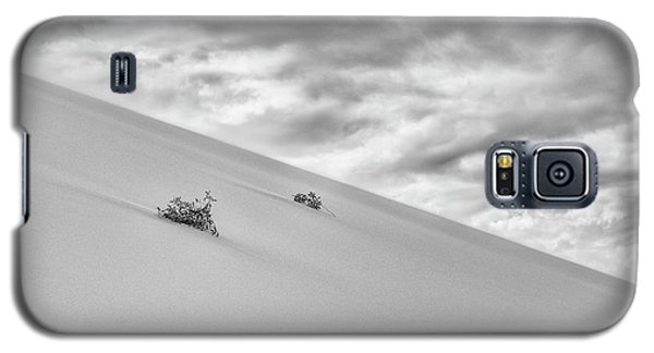 Galaxy S5 Case featuring the photograph Sand And Clouds by Hitendra SINKAR