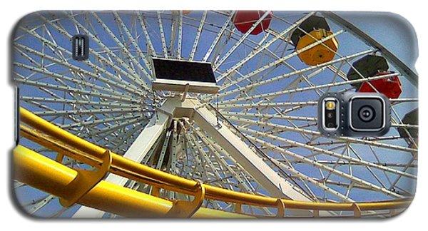 Santa Monica Pier Amusement Park Galaxy S5 Case