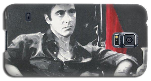 Scarface Galaxy S5 Case by Luis Ludzska