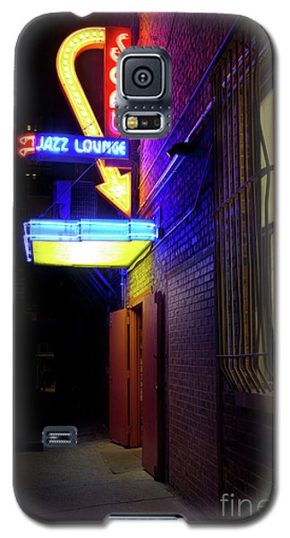 Galaxy S5 Case featuring the photograph Scat Jazz Lounge 1 by Elena Nosyreva