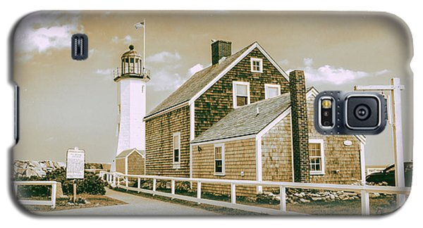 Scituate Lighthouse In Scituate, Ma Galaxy S5 Case