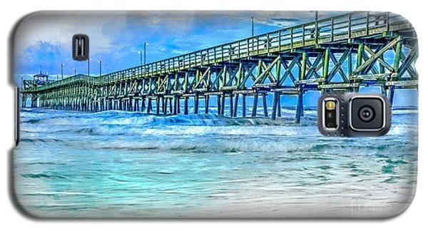 Sea Blue - Cherry Grove Pier Galaxy S5 Case