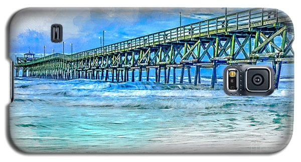 Sea Blue - Cherry Grove Pier Galaxy S5 Case