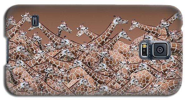 Sea Of Giraffes Galaxy S5 Case