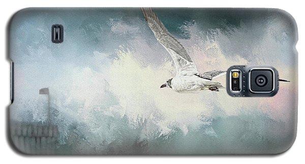 Seagull In Flight Galaxy S5 Case