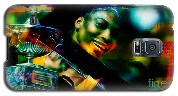 Serena Williams Galaxy S5 Case - Serena Williams by Marvin Blaine