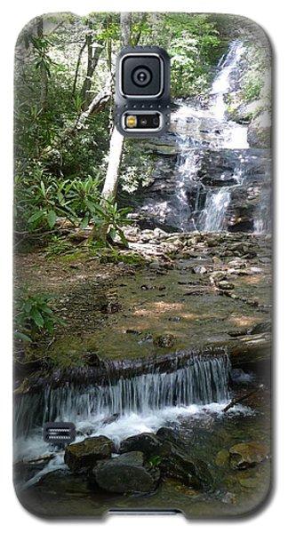 Galaxy S5 Case featuring the photograph Set Rock Creek Falls by Joel Deutsch