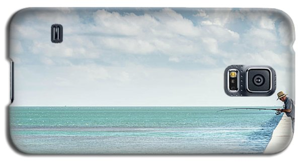 Seven Mile Fishing Galaxy S5 Case