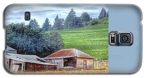 Shed And Grain Bins 17238 Galaxy S5 Case