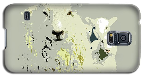 Sheep With Lambs Galaxy S5 Case
