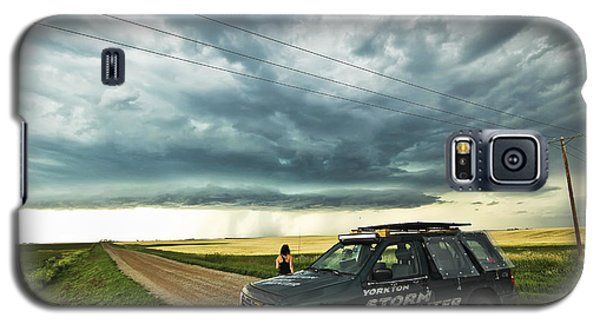Shelf Cloud Near Vibank Sk. Galaxy S5 Case