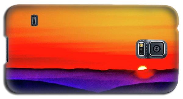 Shenandoah Valley Sunset Galaxy S5 Case