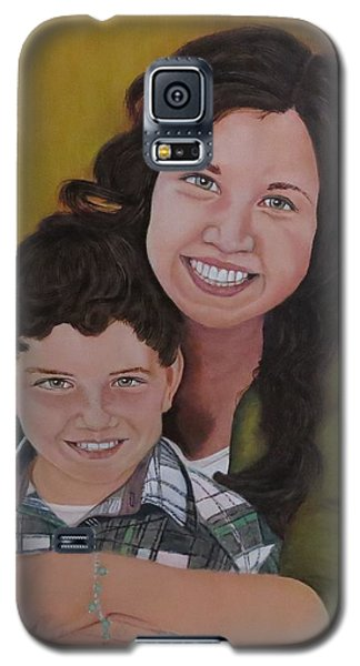 Siblings Galaxy S5 Case by Sharon Schultz