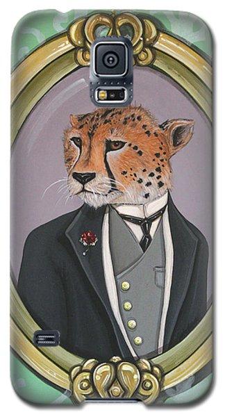 Galaxy S5 Case featuring the painting Sir Pettingwise IIi by Jude Labuszewski
