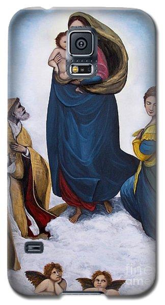 Sistine Madonna Galaxy S5 Case