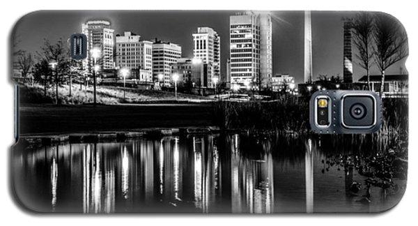 Skyline Of Birmingham Alabama From Railroad Park Galaxy S5 Case by Alex Grichenko