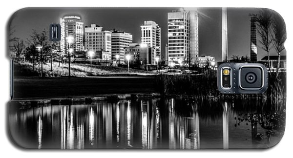 Skyline Of Birmingham Alabama From Railroad Park Galaxy S5 Case
