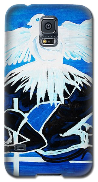 Slain In The Holy Spirit Galaxy S5 Case by Gloria Ssali