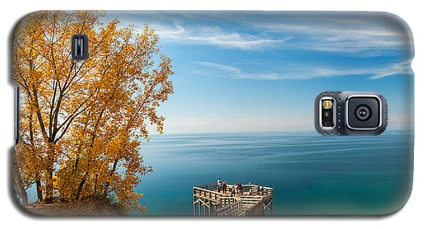 Sleeping Bear Overlook Galaxy S5 Case by Larry Carr