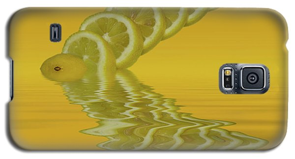 Galaxy S5 Case featuring the photograph Slices Lemon Citrus Fruit by David French