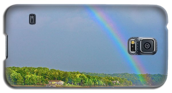 Smith Mountain Lake Rainbow Galaxy S5 Case